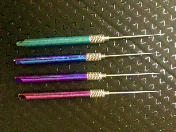 undefined ** NOW HERE ** Colored EDC Titanium Toothpicks - Blue - Green - Purple - Hot Pink true-talon.myshopify.com