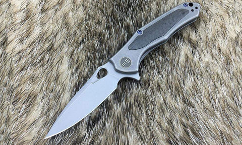 ***NEW*** - WE Knives - 804 VAPOR - 2.95 inch S35VN Blade - Carbon Fiber & Titanium  Handle - True Talon