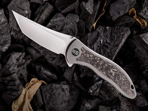 ** NOW HERE ** WE Knives SYNERGY2 - 912 - M390 Blade - INTEGRAL Titanium Handle - true-talon