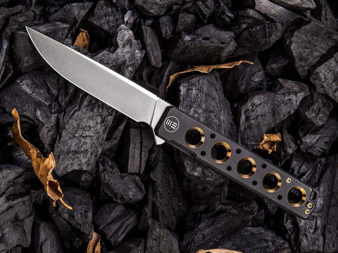 ** NOW HERE ** - WE Knives - 913 Miscreant - S35VN Blade - Titanium Handle - Brad Zinker Design - true-talon