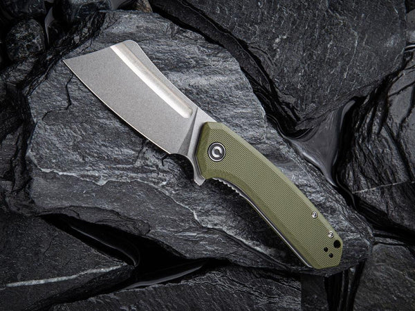 ** HERE NOW ** CIVIVI - C2004 Mini Bullmastiff - 9Cr blade - G10 Handle