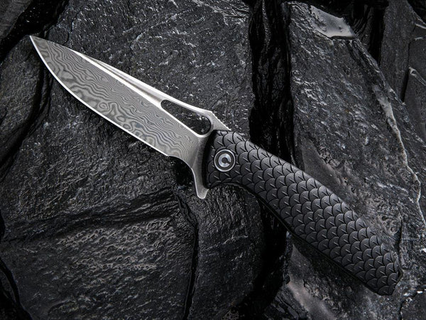 ** NOW HERE ** CIVIVI - C902DS WYVERN - Damascus Blade