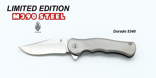 Kizer Ki3455A1 - Mini Dorado M390 Knife - Limited Edition - True Talon