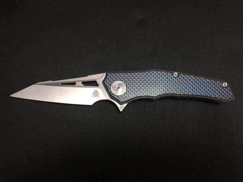 ** NEW ** Aiorosu ELITE - M390 Blade - Titanium handle - Carbon Fiber Option - True Talon