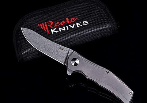 Reate Knives - Hills - S35VN Blade & Titanium Handle - True Talon