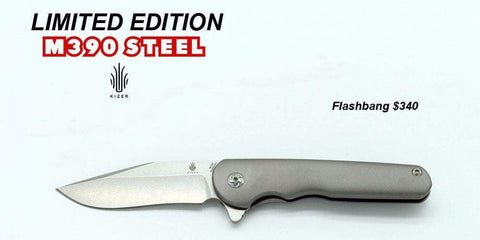 Kizer Ki3454A1- Mini Flashbang M390 Knife - Limited Edition - True Talon