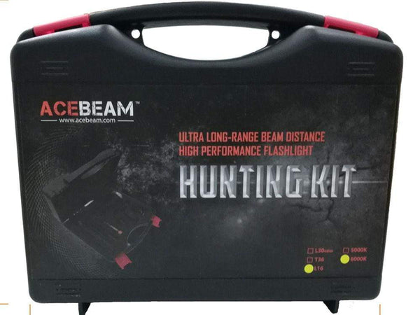 Acebeam L16 Hunting Kit - 2000 Lumens, Flashlights / Torches, Acebeam