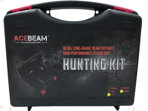 ** NOW HERE ** Acebeam L16 Hunting Kit - 2000 Lumens Flashlight - 603 Metre Throw -  5 Years Warranty - includes battery - True Talon