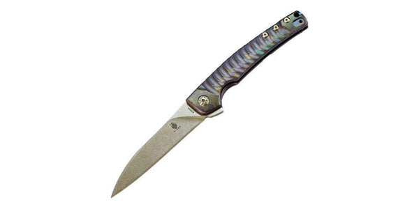 Kizer Ki3457A2 - Splinter Knife - Blue - S35VN Blade - True Talon