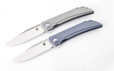 ** NEW ** Tuya THORAX - S35VN Blade - Titanium handle - Grey or Blue - PRE-ORDERS NOW TAKEN - True Talon