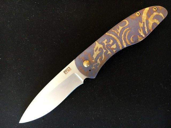 Michael Vagnino Custom Velox 2 - Dragon Scale - CTS-XHP Blade - True Talon