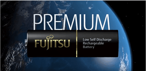 Fujitsu PREMIUM AAA LSD (Eneloop) Rechargeable NiMh Batteries - Black Label - True Talon