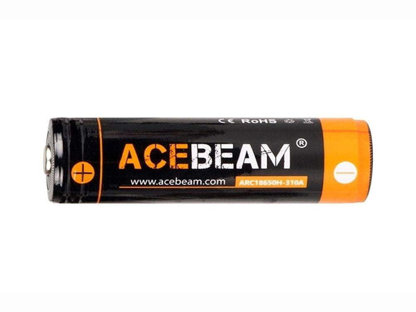 ACEBEAM IMR 18650 - 3100 mAh Lithium-ion Batteries - For Flashlights - True Talon