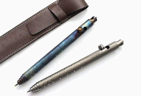 ** NEW ** NMT P6 TITANIUM EDC TACTICAL PEN - BOLT ACTION  - 4 COLORS - TAKING PRE-ORDERS - True Talon