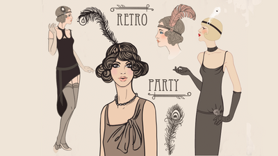 4 Great Gatsby Styles - Must Have Accessories For the 1920's Look