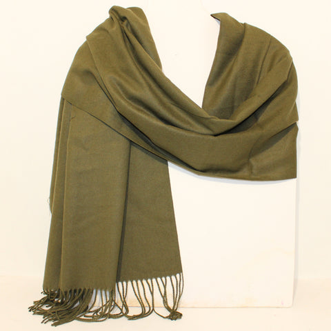 Aggie Cashmere Mix - Green