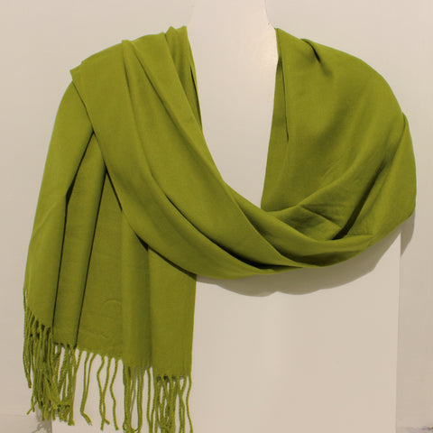 Aggie Cashmere Mix - Lime