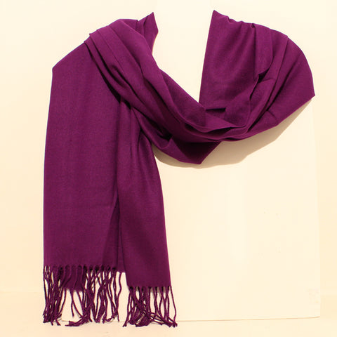 Aggie Cashmere Mix - Purple