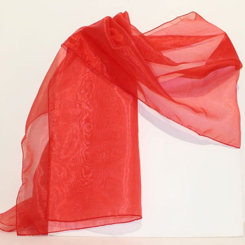 Sheer Wrap - Red