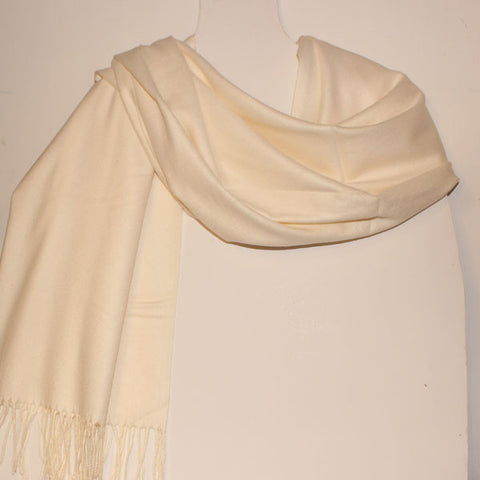 Aggie Cashmere Mix - Cream