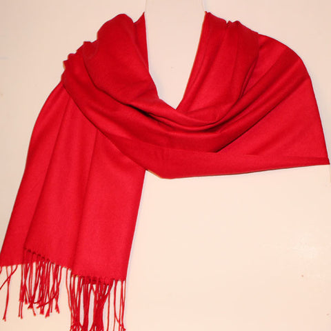 Aggie Cashmere Mix - Red