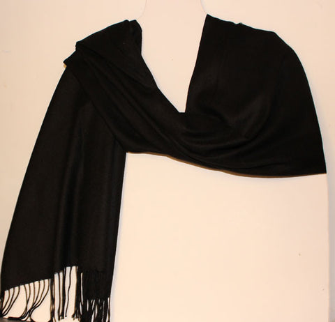 Aggie Cashmere Mix - Black