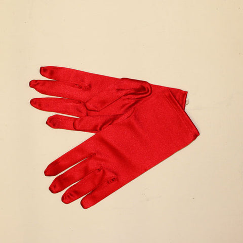 Short Gloves - Red