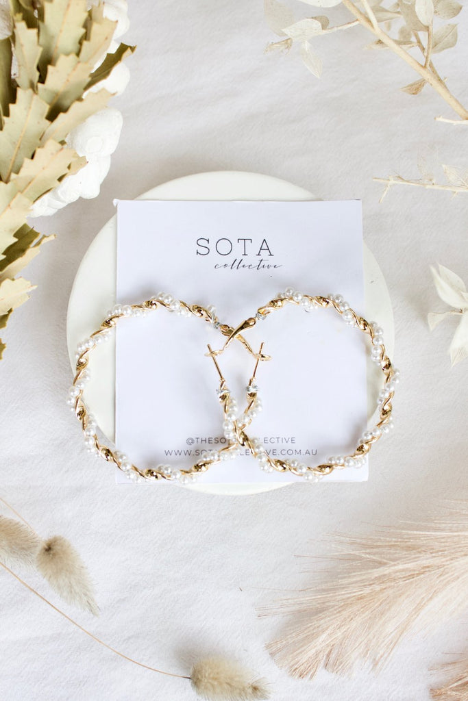 The Sota Collective Taryn Hoop Earring - Sooki Boutique