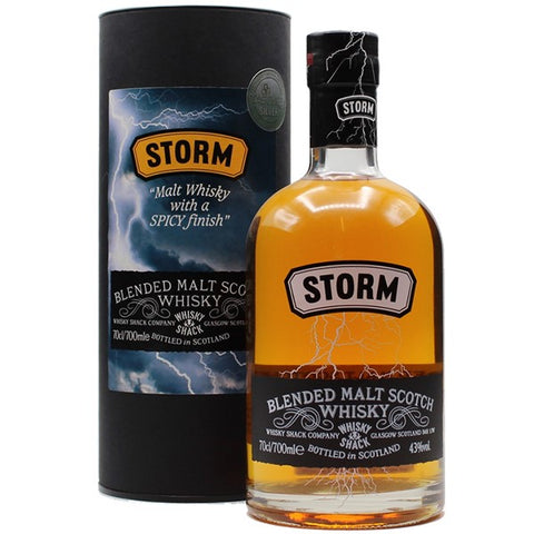 Whisky Shack, Storm; Blended Malt Scotch Whisky