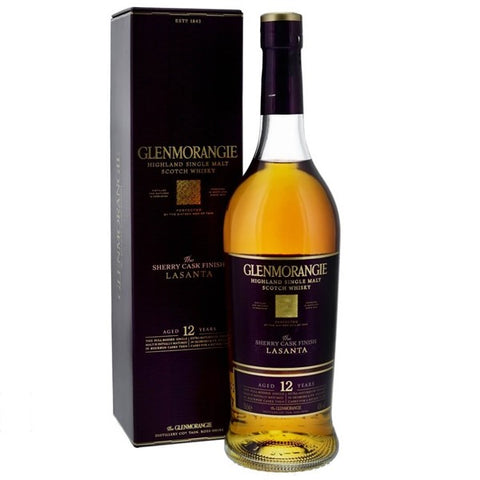 Glenmorangie Lasanta, 12 yo; Single Malt