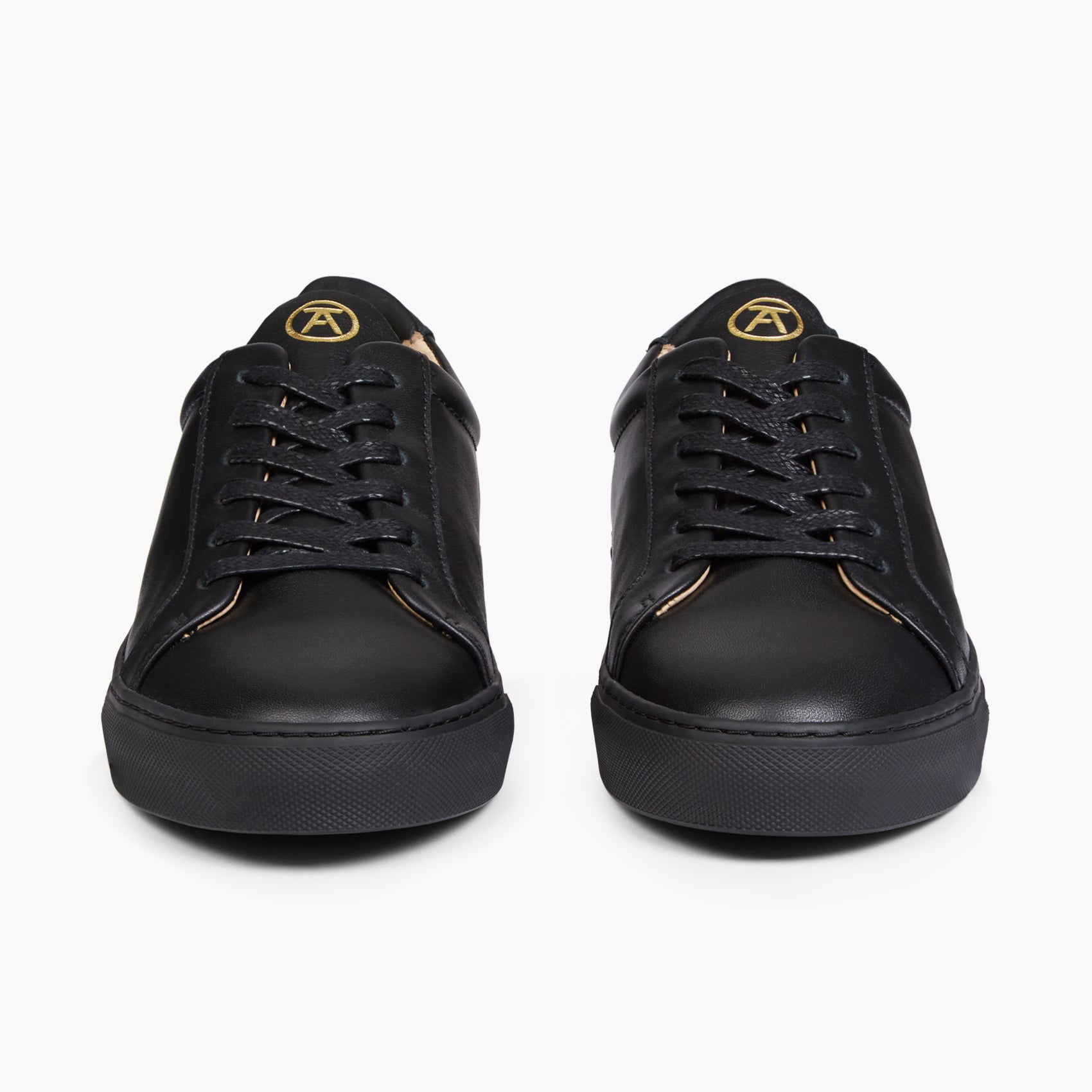 0b075ee8088 The Original 172 | All Black Men's Leather Sneaker – Seven Feet Apart