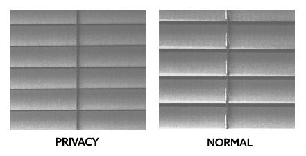 privacy venetian blinds