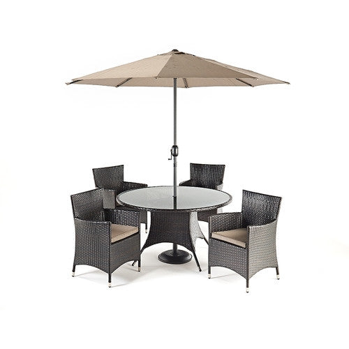 Luxe Round Dining 4 - Awnings Direct
