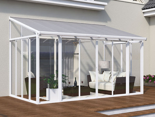 Aluminium Garden Room - 4.25m Wide x 3M Projection