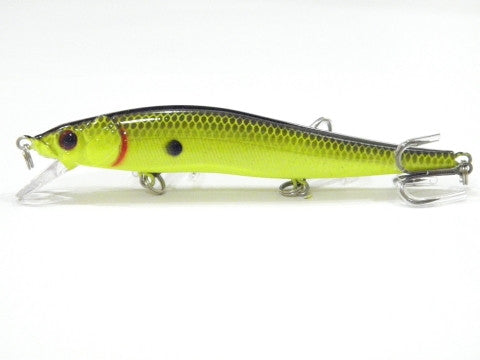 wLure Minnow Crankbait Hard Bait Tight Wobble Slow Sinking Jerkbait  High Quality ABS Model 110 12g 12cm Fishing Lure M262S