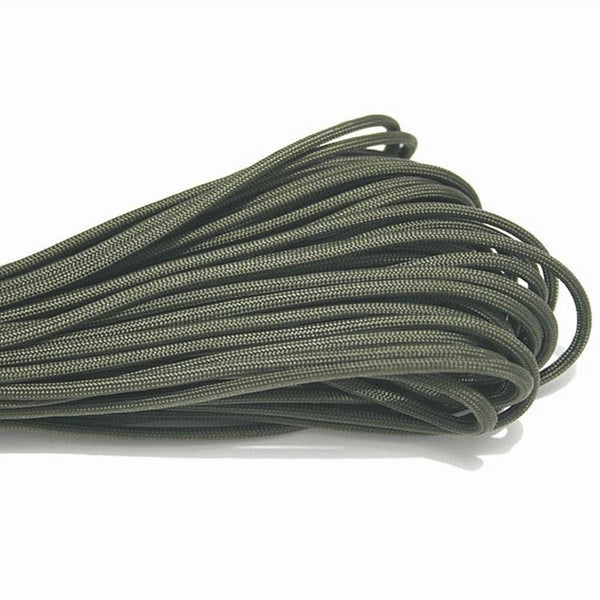 Paracord 550 Parachute Cord Lanyard Rope Mil Spec Type III 7 Strand 100FT 31m Climbing Camping survival equipment Climbing rope - Alpha Male Global