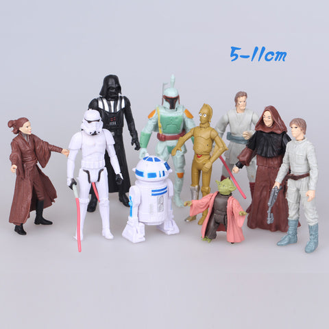 2016 NEW hot 6CM Star Wars Toys 10 pcs/set  Best action figure toys Christmas gift doll - Alpha Male Global