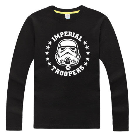 star wars darth vader t shirt Hot band Product  100% cotton top quality funny t-shirt party dress glow in the dark - Alpha Male Global