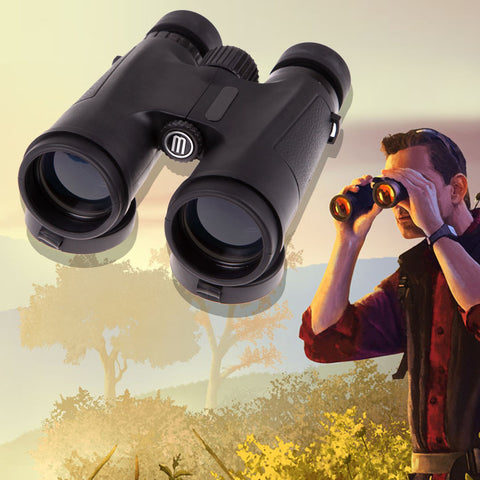 2016 High Quality Sports Hunting Optics Night Vision 8 times Magnification 42 Zoom Optical Binoculars 330m-1000m Best Price - Alpha Male Global