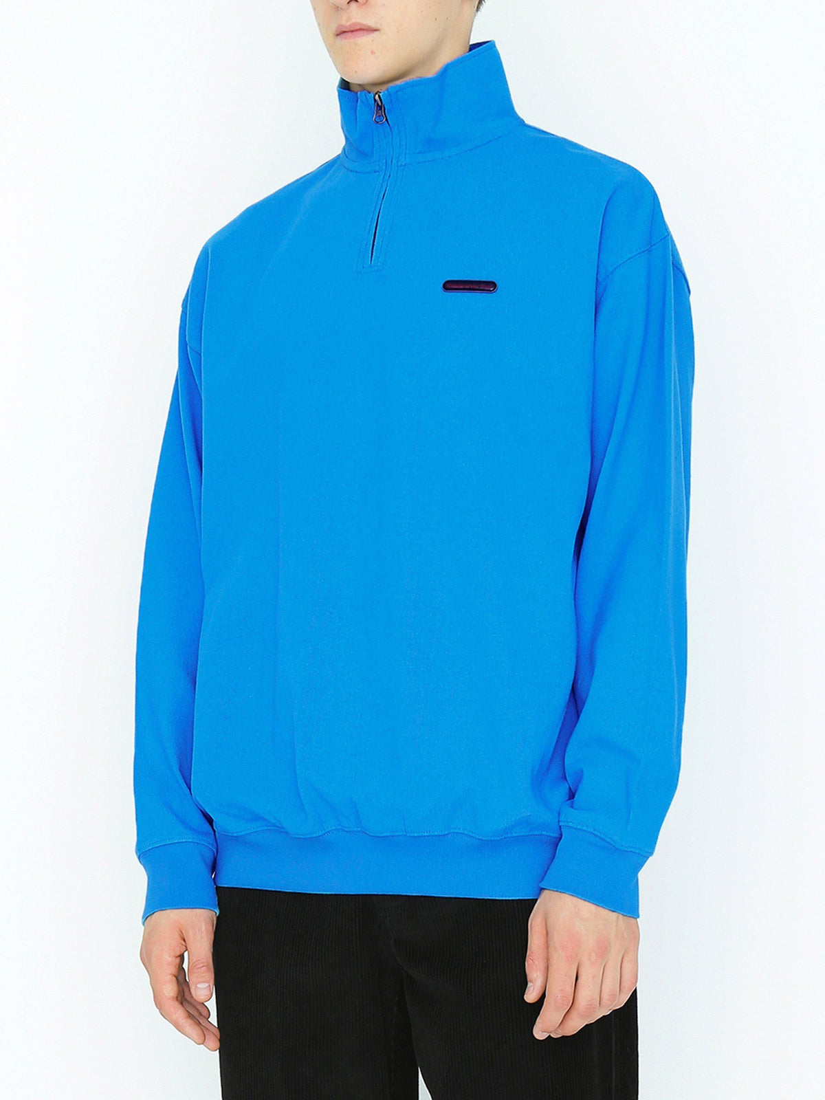 Rubber SP Half ZIP Pullover - thisisneverthat