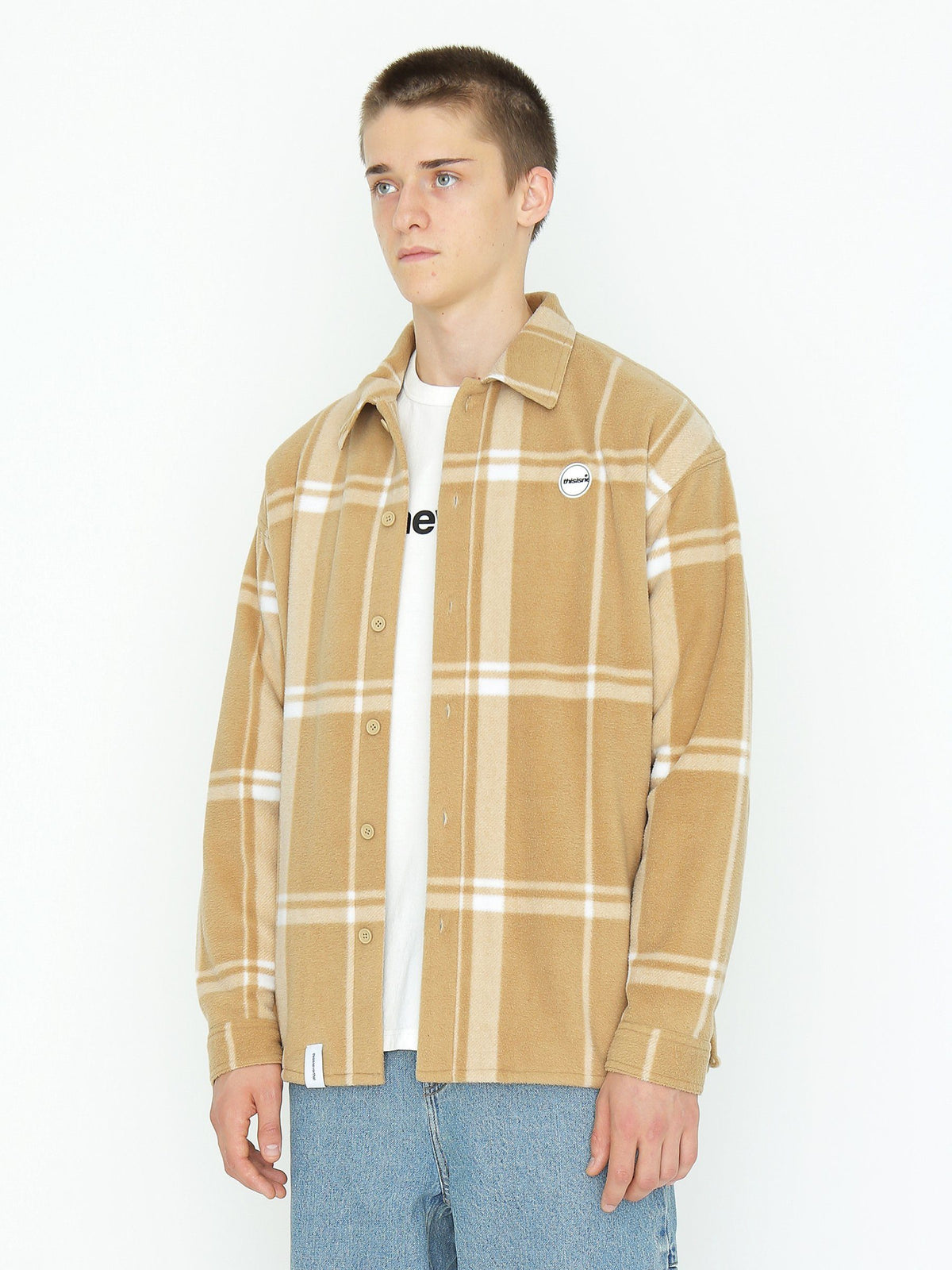 Oversized Fleece Jacket - thisisneverthat