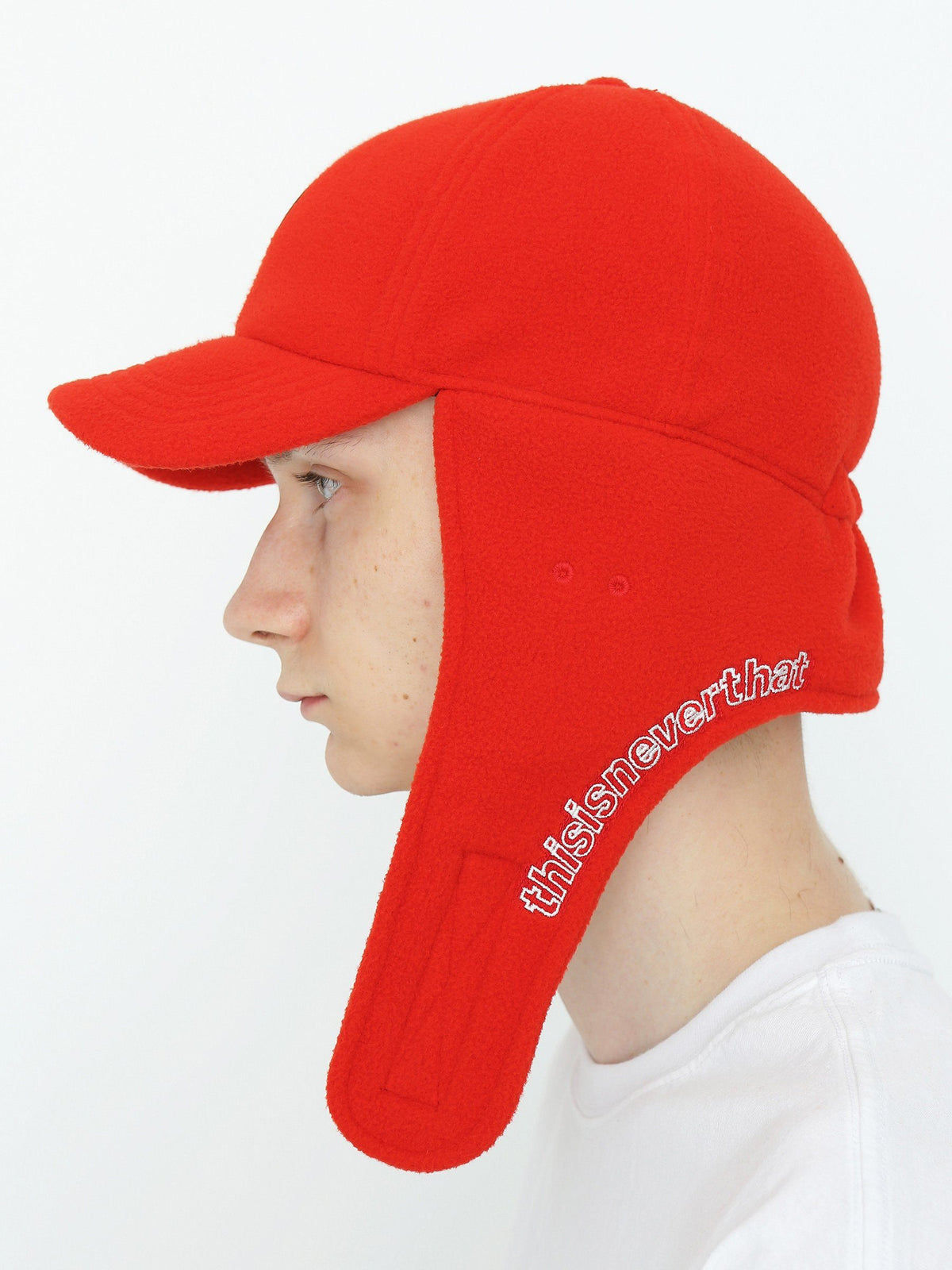 Fleece Earflap Cap - thisisneverthat