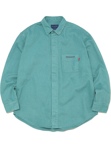 Overdyed Twill Shirt - thisisneverthat