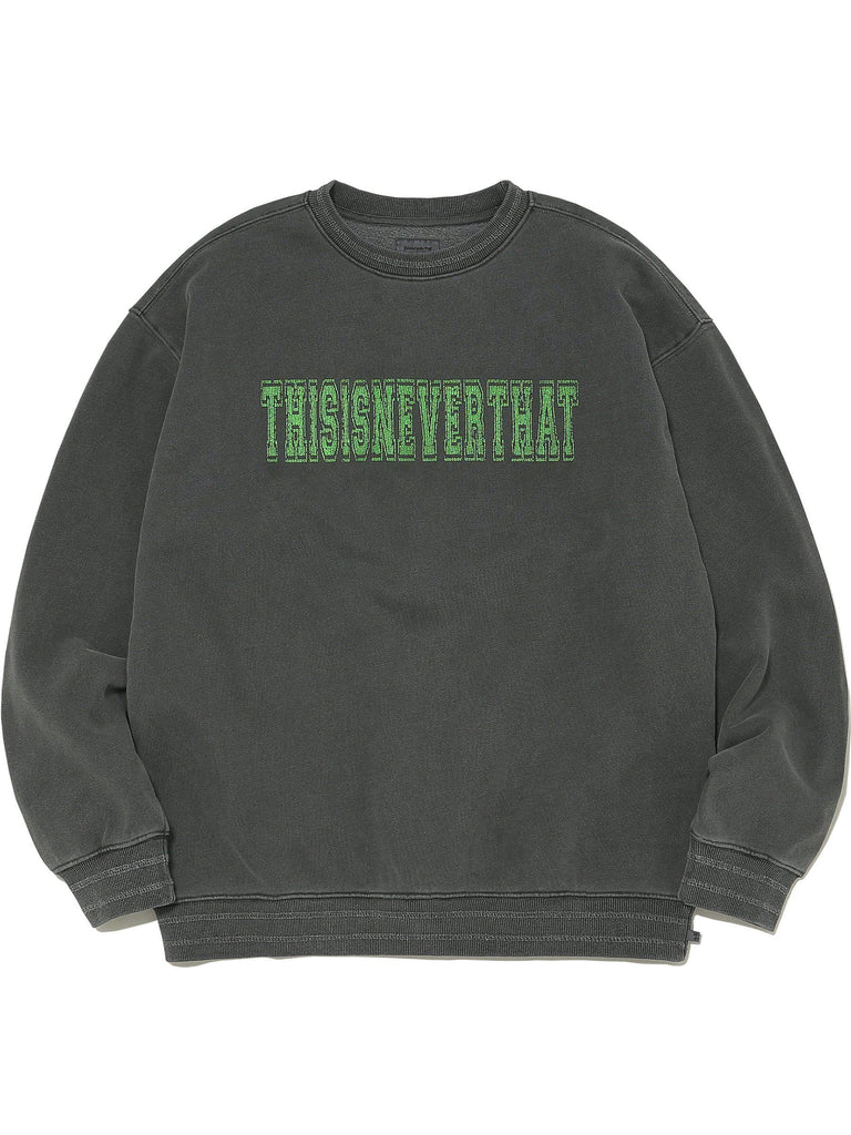 Cracked Crewneck - thisisneverthat
