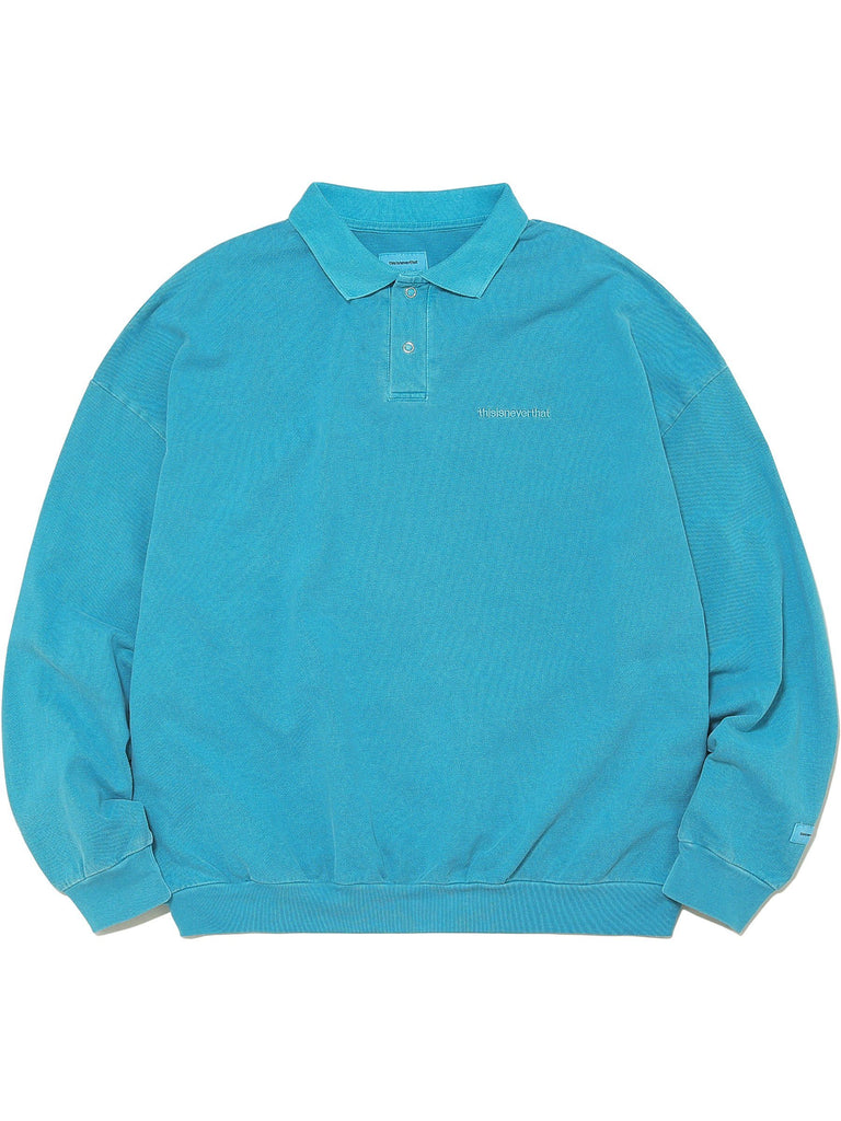 INTL. Logo Overdyed Polo - thisisneverthat