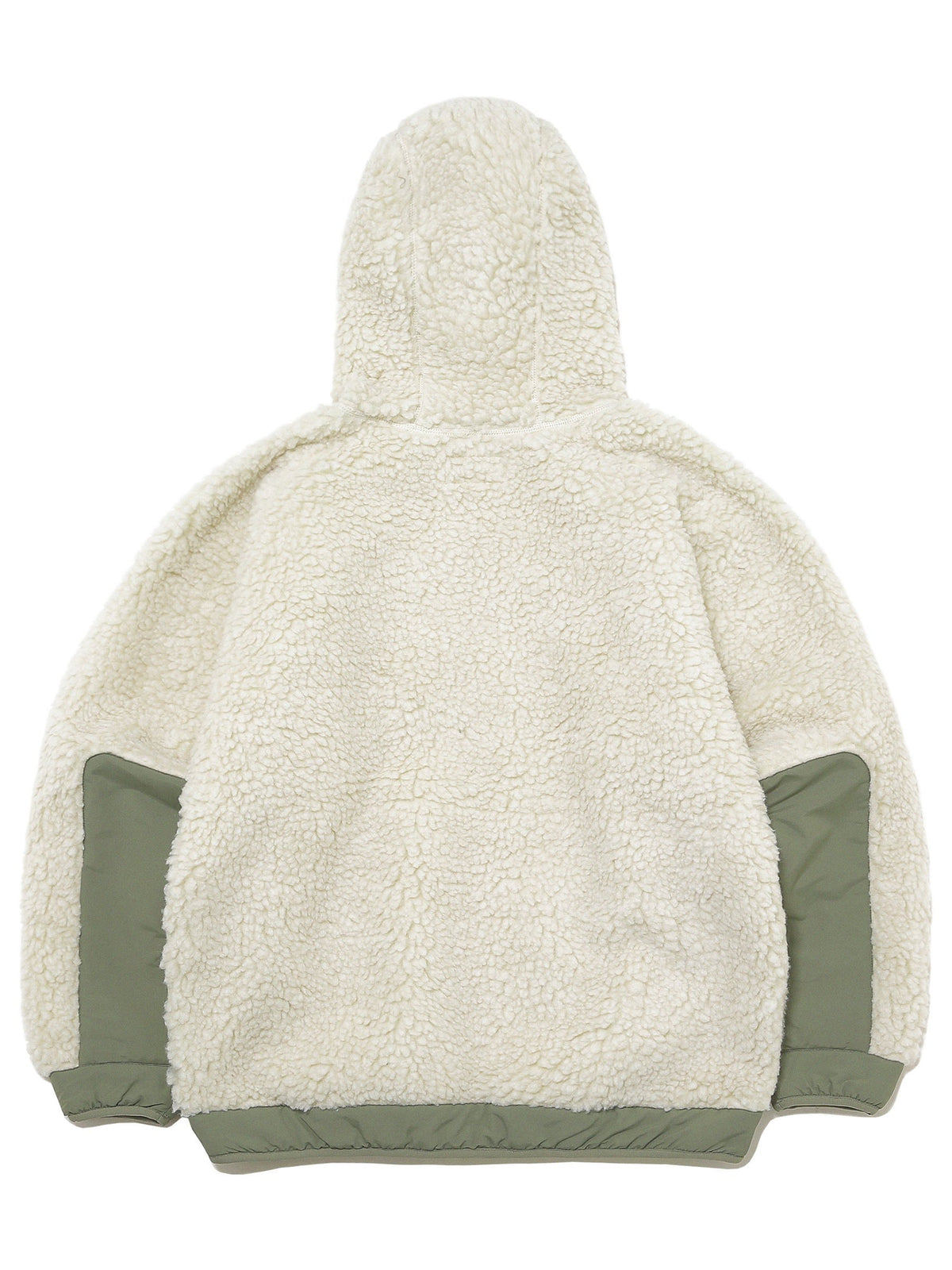 Hooded Boa Fleece Jacket