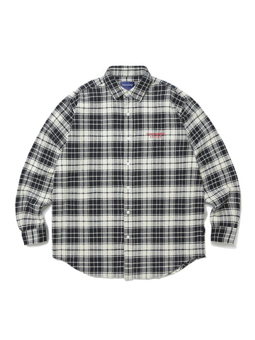 L-Logo Flannel Shirt - thisisneverthat