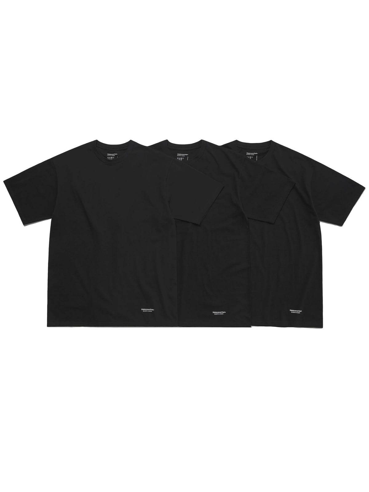 3 TAGLESS T-SHIRTS - thisisneverthat