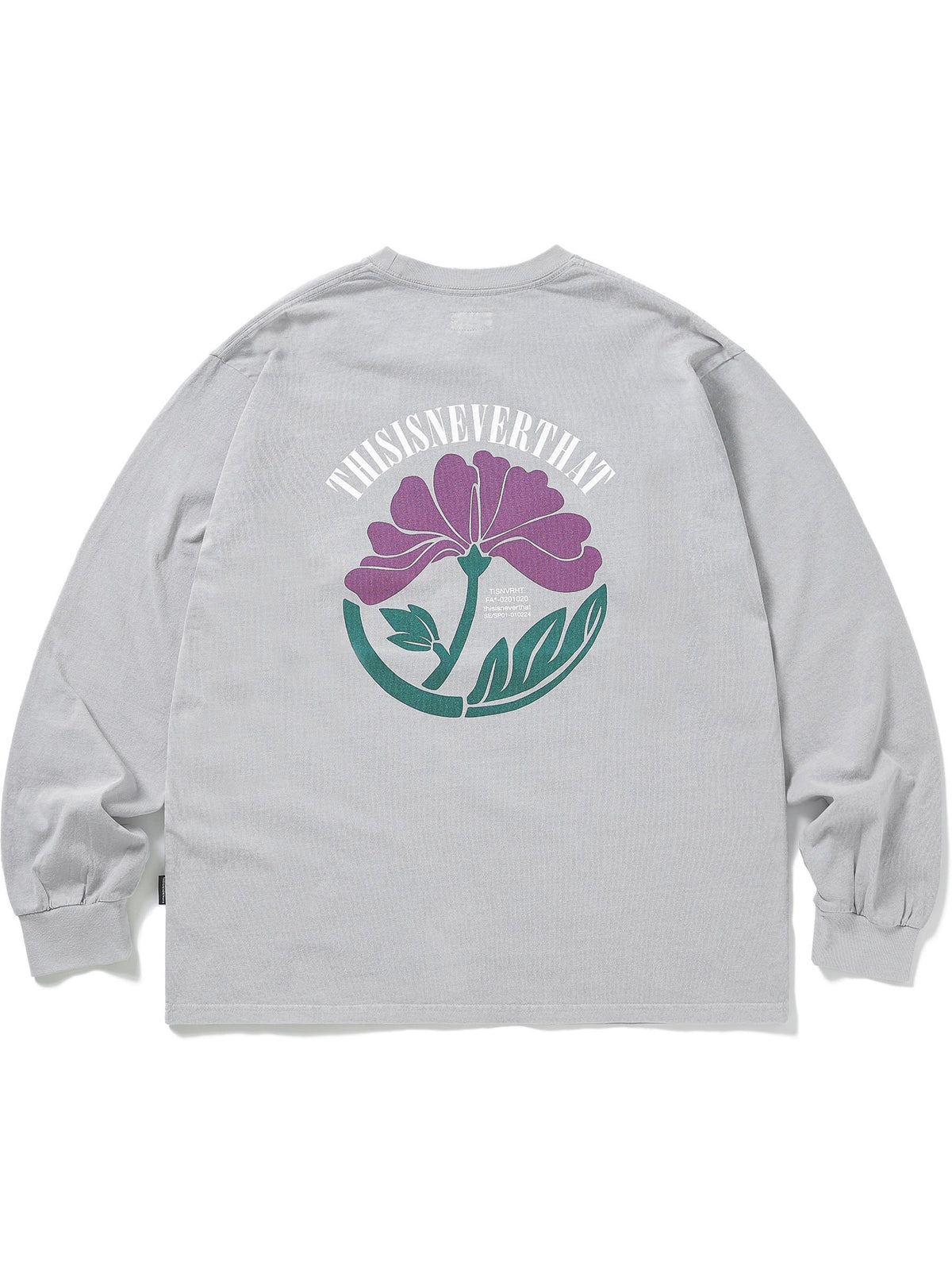 Overdyed Flower L/SL Top - thisisneverthat