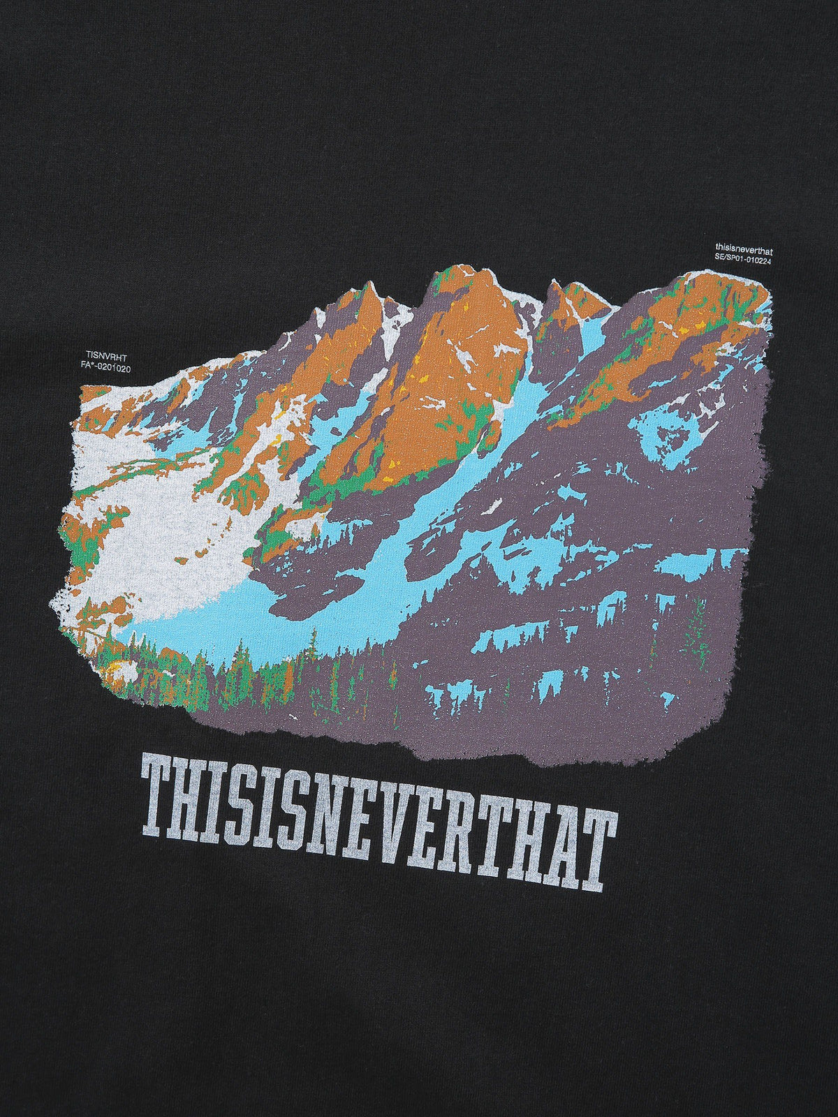 Mountain Tee - thisisneverthat